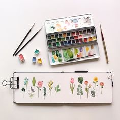 watercolor ideas creative being tusche wasserfarben lebe dich selbst lebe d watercolor ideas creativ Watercolour Painting, Painting & Drawing, Watercolor Ideas, Plants Watercolor, Watercolor Water, Flower Watercolor, Watercolor Artists, Painting Inspiration, Art Inspo