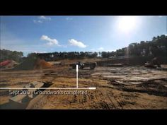 The Construction of Center Parcs - Woburn Forest - YouTube