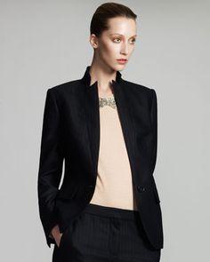 Pinstripe Jacket by Stella McCartney at Neiman Marcus.
