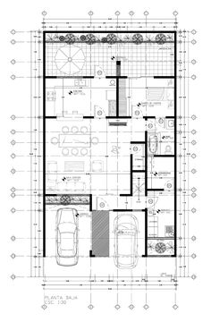 Casa Aurora I / 2013 on Behance Apartment Layout, Apartment Design, Building Plans, Building A House, 30x40 House Plans, Architectural House Plans, Arch House, Concept Home, Modern House Plans