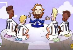 Caricatura: Pirlo le da lecciones a los jóvenes de Inglaterra - Goal.com - Goal.com