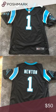 6a7169dc88ffc Cam Newton Panthers Jersey Worn maybe once! New style
