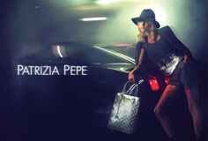 Patrizia Pepe Ad CAmpaign with the Polish model Anja Rubik, shot in London by photographers, Mert & Marcus.