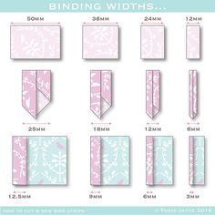 How to cut & sew bias strips | Sewing Ideas | Pinterest | Sewing ... : cutting bias strips for quilt binding - Adamdwight.com