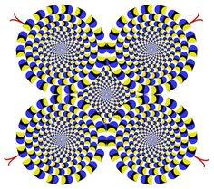 Rotating Snakes' <b>optical</b> <b>illusion</b>