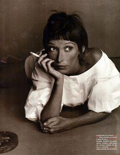 Camilla Nickerson by Steven Meisel - Vogue Italia Feb. 1993
