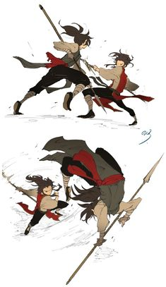 Cosas del anime Dororo (~^v^)~ # Fanfic # amreading # books # wattpad Action Pose Reference, Drawing Reference Poses, Action Poses, Drawing Poses, Design Reference, Character Poses, Character Drawing, Character Concept, Concept Art