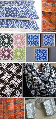 Street Patterns: Tile Print