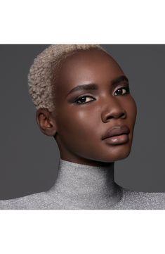 Waterproof Foundation, Liquid Foundation, Black Girl Makeup, Girls Makeup, Slavery Today, Short Silver Hair, Blonde Afro, Natural Hair Styles, Short Hair Styles