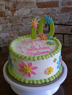 pictures of personal birthday cakes | Birthday Cake | Flickr - Photo Sharing!