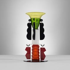 210: Ettore Sottsass / Agesicora vase < Important Design, 15 December 2011 < Auctions | Wright