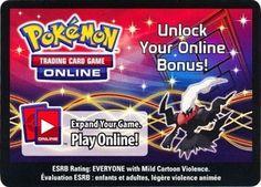 Pokemon Darkrai 2012 Fall Legends Legendary EX Tin Online Code Card