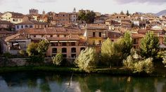 View of Rieti, Italy