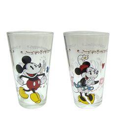 Look what I found on #zulily! Disney Mickey & Minnie Tumbler Set #zulilyfinds