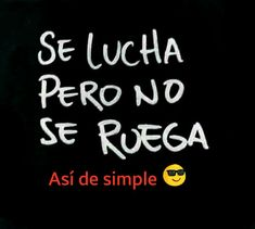 Así de simple.