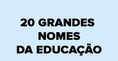 Por Victor Lima   Com informações da Revista Nova Escola   Você sabe quem foi o primeiro pedagogo? Quem inventou a escola pública no ...
