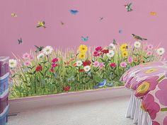 Butterfly Garden Mural Regularly Priced $134.99 Sale Price: $28.99 YOU SAVE $106 Product Code: 22107P