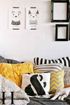 interior inspiration: Yellow at home – Mai Wears It