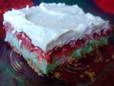Christmas Jello Recipe