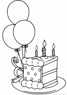 Pasta Boyama Sayfasi Okuloncesitr Preschool 2020 Boyama Sayfalari Drawing Dogum Gunu Balonlari