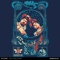 Respect The Chemistry | $10 Art Nouveau Breaking Bad tee from RIPT today only!