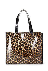 Leopard Print Shopper Tote from Forever21 $2,80