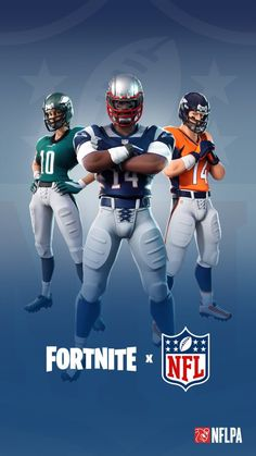 NFL & Fortnite Wallpaper HD Source by agustindelarosa