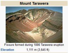 Mount Tarawera - Wikipedia, the free encyclopedia