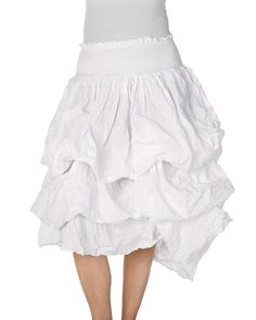 """Crispy cotton skirt with smocked waist.Material: 100% cottonCare instructions: Wash 40 degrees with similar colorscreateColors(""""ss17"""");showSkiss(""""22859 SS17"""");"""