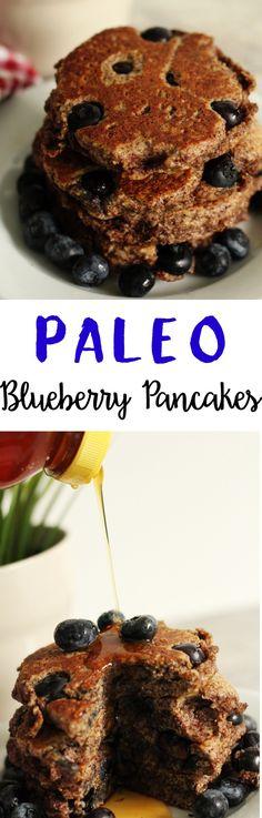Paleo Blueberry Panc