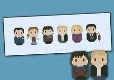 Mini People - Sherlock cross stitch pattern by cloudsfactory on DeviantArt