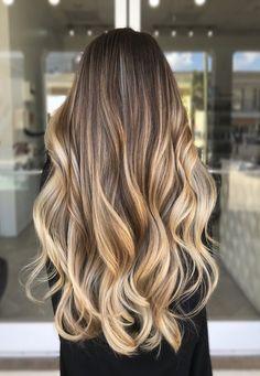 Brown Hair Balayage, Brown Blonde Hair, Hair Color Balayage, Blonde Balayage, Hair Highlights, Natural Blonde Highlights, Reverse Balayage, Honey Balayage, Gorgeous Hair Color