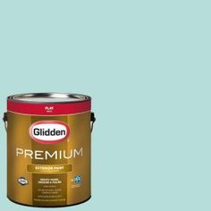 Glidden Premium 1-gal. #HDGB23U Freshwater Flat Latex Exterior Paint HDGB23UPX-01F at The Home Depot - Mobile