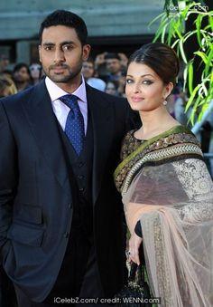 abhishek with aishwarya bollywood celebrity
