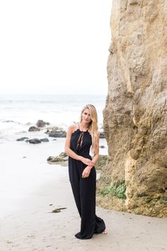 Black Nova Halterneck Jumpsuit | Foi Clothing Boutique | Adjustable Waist Details | Flattering Fit | Must Have | Black Jumpsuit | Buy NOW on Foiclothing.com | Spring and Summer Fashion | Women's Boutique | Trendy Jumpsuit | Wear Everyday | Everyday Wear | Perfect for Every Occasion | Crochet Neckline Details | Tassel Ties | Magic in Malibu | Foi's Summer 2016 Lookbook |