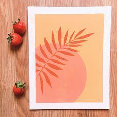 Image of ☽ Sunrise Silhouette ☾ Easy Canvas Art, Simple Canvas Paintings, Small Canvas Art, Easy Canvas Painting, Mini Canvas Art, Gouache Painting, Diy Painting, Diy Canvas, Easy Paintings