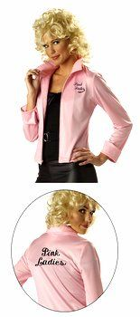 Adult Licensed Grease Pink Ladies Jacket - Grease Costumes - Candy Apple Costumes