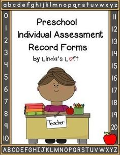 These Preschool Assessment Record Forms from Lindas Loft for Little Learners are a great way to keep track and document individual student progress throughout the year. These forms would also be ap Preschool Assessment Forms, Preschool Curriculum, Preschool Classroom, Kindergarten, Homeschooling, Classroom Ideas, Early Childhood Education Programs, Early Education, Special Education