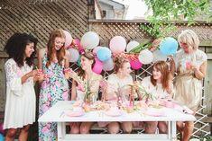 pastel pool party