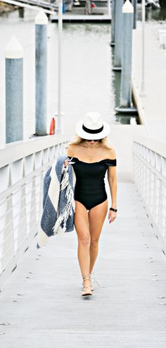 Timeless, trusted, and tugless, this gorgeous one-piece swimsuit is a true classic with a hint of Old Hollywood charm. Wide, supportive straps elegantly connect an eye-catching square back to a bust-b
