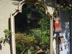 It's magic!   Der Garten im Spiegelbild   Stefanie Bednarzyk   Flickr Jumping Jacks, Arch, Outdoor Structures, Mirror, Home Decor, Mirror Image, Lawn And Garden, Pictures, Longbow