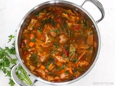 Simmered Cabbage Soup
