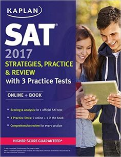 kaplan new sat 2017 is one of the best books to prepare for sat kaplan