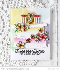 MFT July Card Kit – Twice the Wishes | RejoicingCrafts