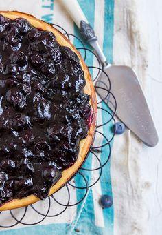Maple & Blueberry Cheesecake