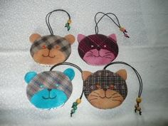 These are cats keys cover,  click on the facebook link to see dogs and bears keycover.