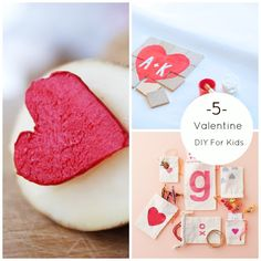 5 Valentine DIY For Kids