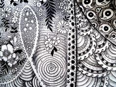 Zentangle by Melissa Brunet