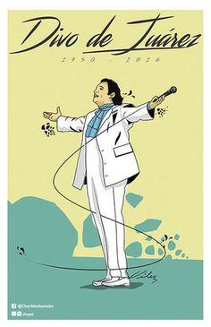 Fans en general se han desbordado a las redes sociales para rendir homenaje a  Juan Gabriel, muchos con el poder del arte.