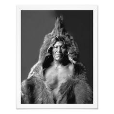 Bear's Belly - An Arikara Medicine Man Photographic Print